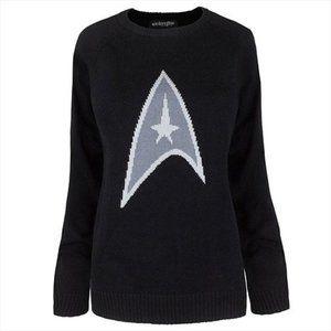 Star Trek symbol sweater NEW NIP